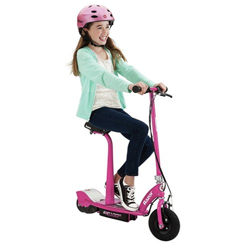 comprar patinete electrico rosa