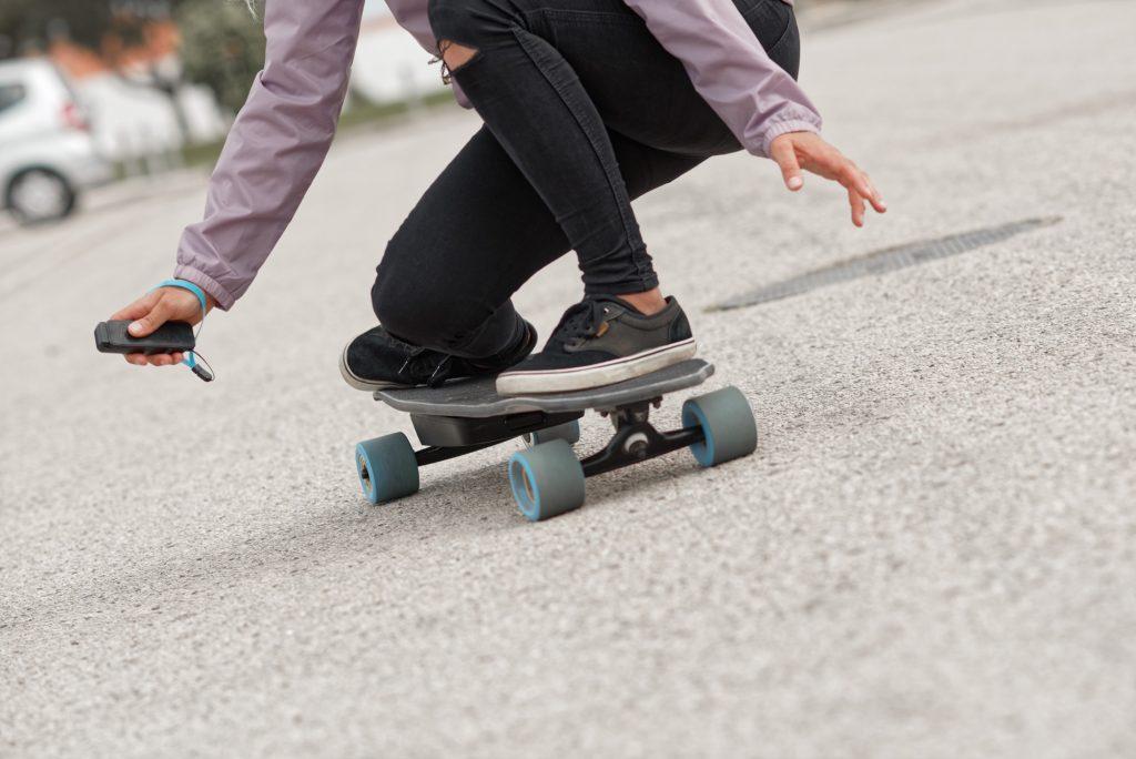 frenado skate