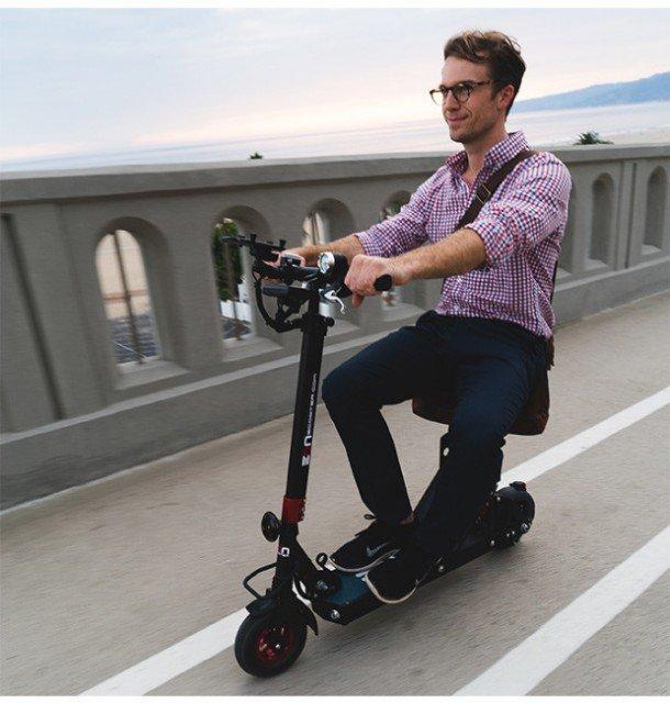 patinete electrico con asiento
