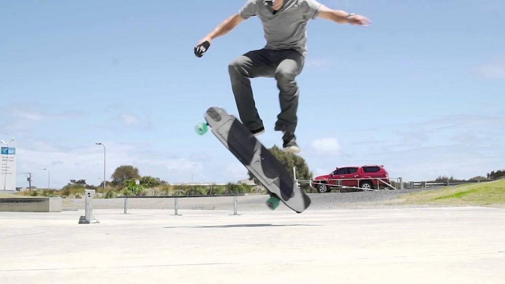 salto skate electrico