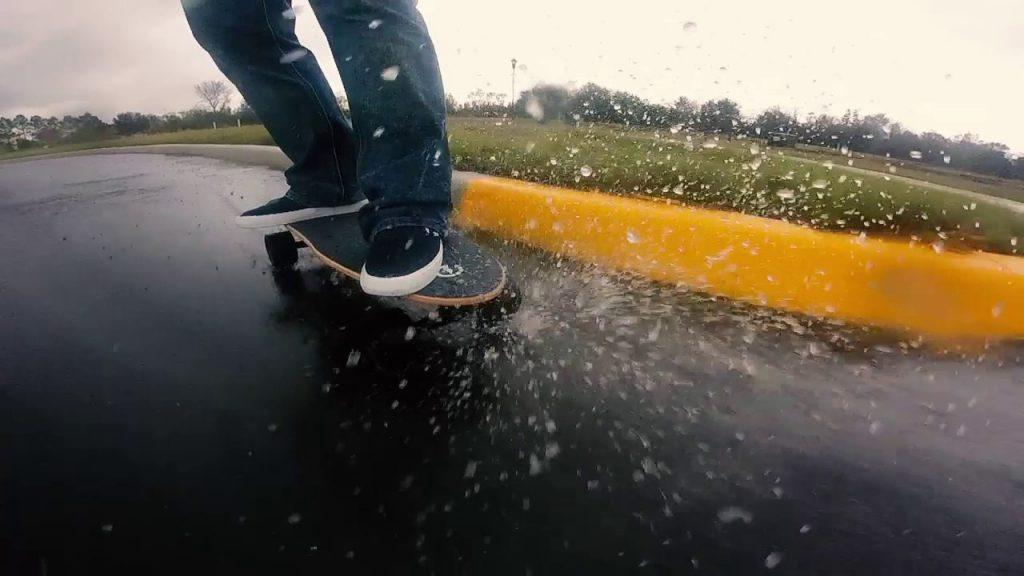 skate electrico prueba de agua