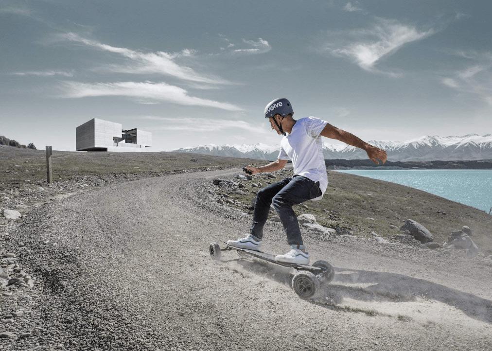 skate electrico todoterreno