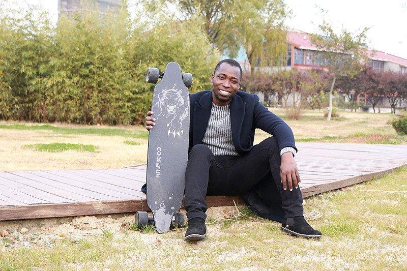 longboard skate electrico rcb