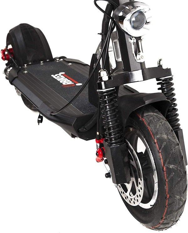 patinete urbikes rueda y base