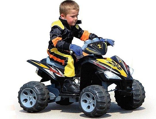 quad electrico niño pequeño