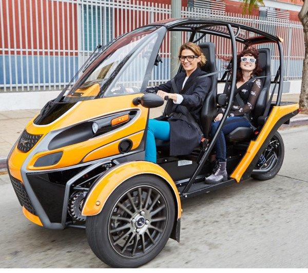 triciclo electrico chicas