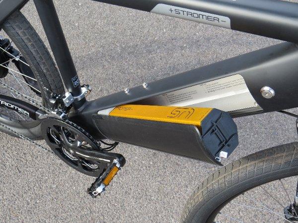 bateria bicicleta electrica cuadro