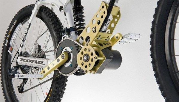 motor-bicicleta-electrica amarillo