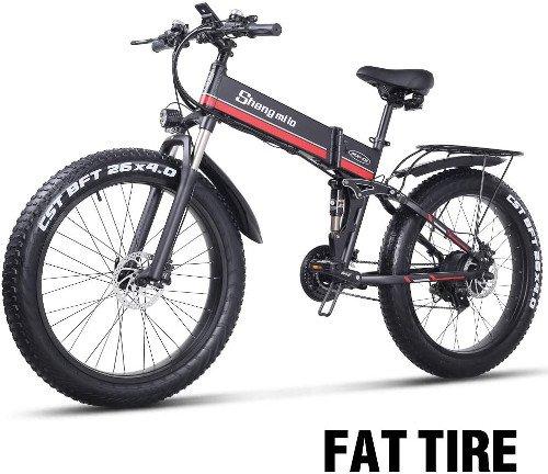 Sheng mi lo Bicicleta eléctrica 48V 1000W