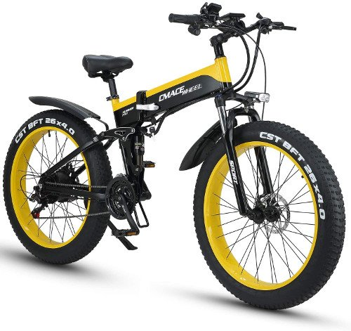 XXCY X26 1000w Bicicleta Híbrida Eléctrica 26 Pulgadas