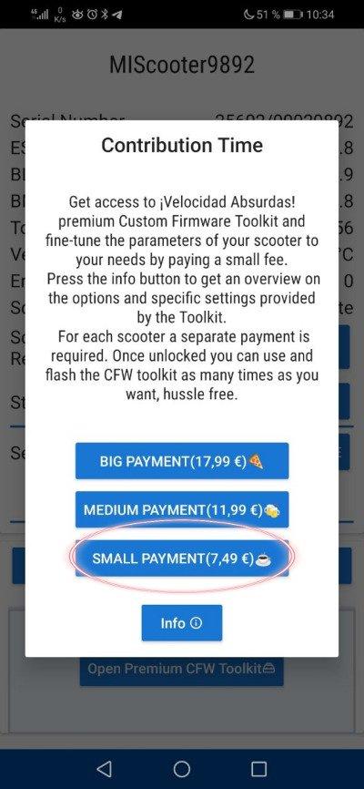 pago app hackear patinetes xiaoflasher