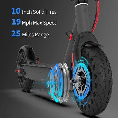 Hiboy Patinete Eléctrico S2 Pro ruedas