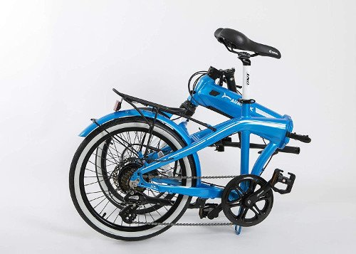 bicicleta electrica aurotek sintra plegada