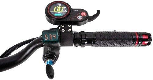 ICe Q5 MAX 60V 21Ah Motor 2400W Patinete Eléctrico pantalla y acelerador