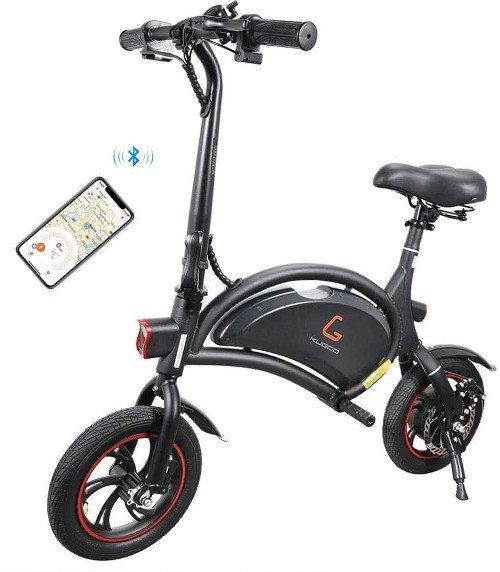 Kugoo B1 Bicicleta Eléctrica Plegable