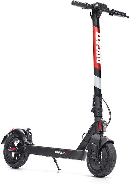 Patinete eléctrico Ducati Pro 2 de lado