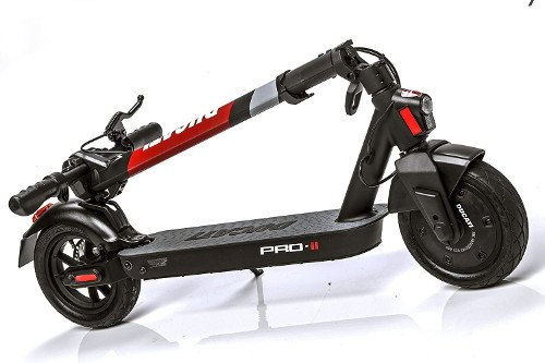 Patinete eléctrico Ducati Pro 2 plegado