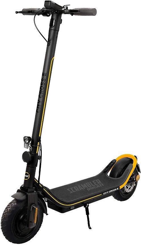 Patinete eléctrico Scrambler Ducati City Cross-E Off Road Edition Yellow