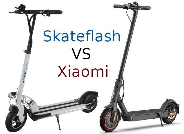 skateflash vs xiaomi portada