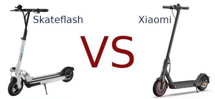 skateflash vs xiaomi