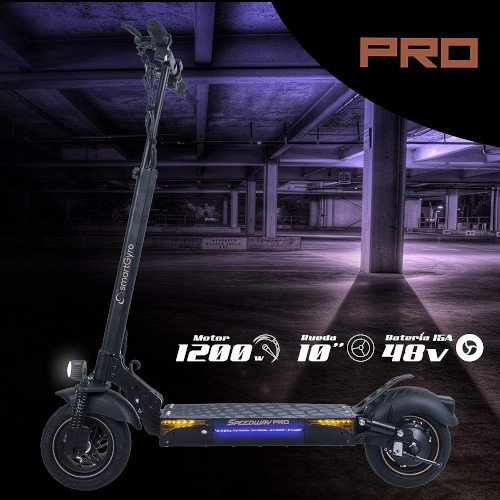 SMARTGYRO Speedway Pro Patinete Eléctrico de 1200 W - caracteristicas