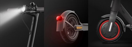 luz rueda xiaomi pro 2