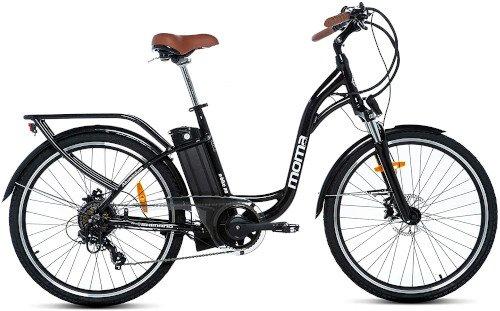 Moma Bikes Bicicleta Electrica Aluminio 26 de lado