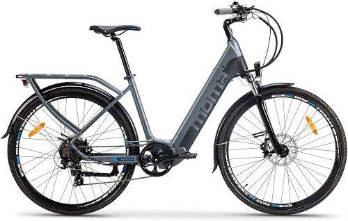 Moma Bikes Bicicleta Eléctrica Urbana EBIKE-28 Pro de lado