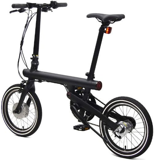 Xiaomi Smart Electric Folding Bike lado