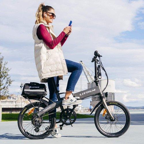 bicicleta electrica littium