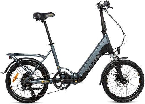 Moma Bikes Bicicleta Electrica Plegabe Ebike 20PRO lado