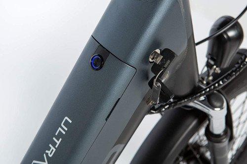 Moma Bikes Bicicleta Electrica Plegabe Ebike 20PRO llave bateria