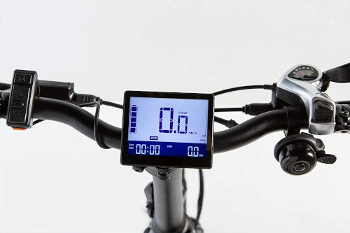 Moma Bikes Bicicleta Electrica Plegabe Ebike 20PRO pantalla