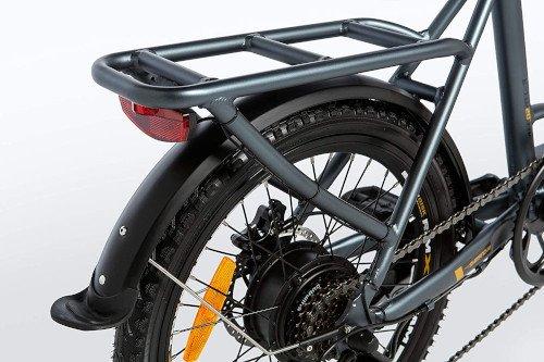 Moma Bikes Bicicleta Electrica Plegabe Ebike 20PRO parte trasera