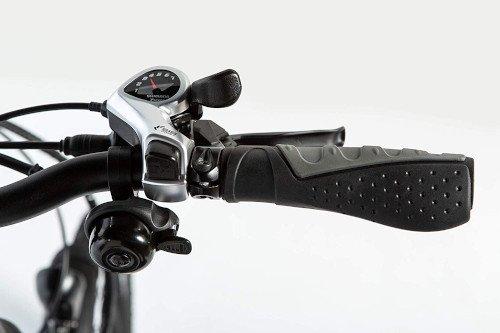 Moma Bikes Bicicleta Electrica Plegabe Ebike 20PRO puño