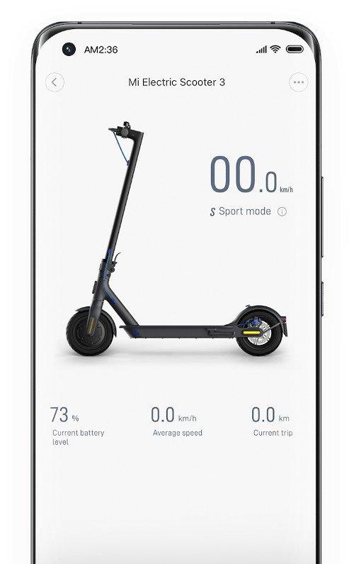 mi electric scooter 3 mi home