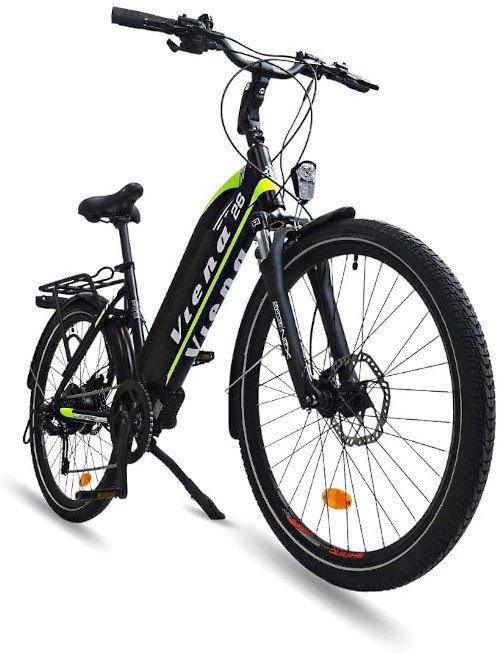 URBANBIKER Viena Bicicleta Trecking eléctrica lado