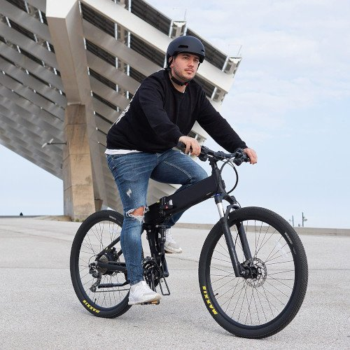 Legend EBIKES ETNA   Bicicleta eléctrica de montaña Plegable hombre casco