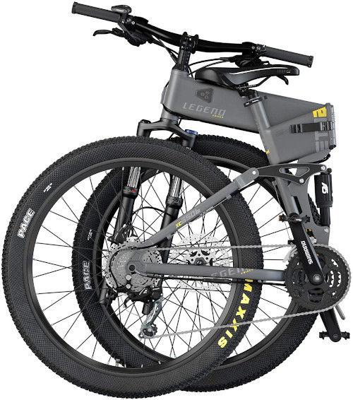 Legend EBIKES ETNA   Bicicleta eléctrica de montaña Plegable plegable