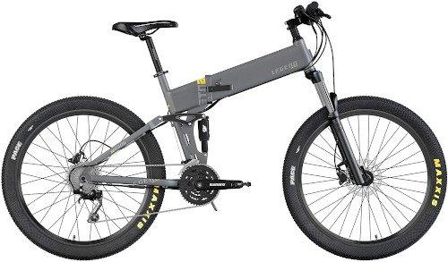 Legend EBIKES ETNA   Bicicleta eléctrica de montaña Plegable