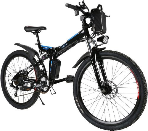 Speedrid Bicicleta Eléctrica, Bicicleta Plegable Eléctrica